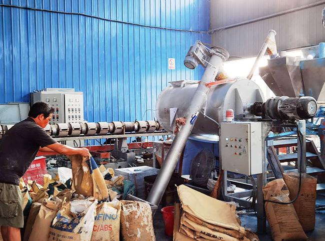 保温砂浆生产车间