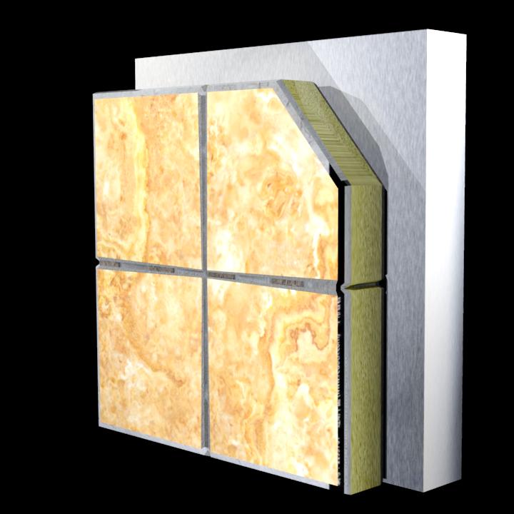 陶瓷薄板装饰保温一体板